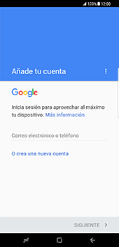 Samsung Galaxy S8 Plus - E-mail - Configurar Gmail - Paso 9