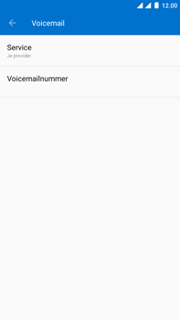 OnePlus 3 - Android Oreo - Voicemail - handmatig instellen - Stap 11