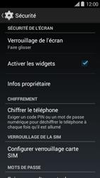 Bouygues Telecom Ultym 5 II - Sécuriser votre mobile - Activer le code de verrouillage - Étape 5