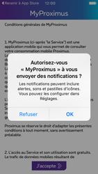 Apple iPhone 5s iOS 9 - Applications - MyProximus - Étape 10