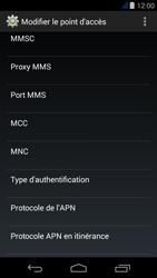 Acer Liquid Jade Z - Internet - Configuration manuelle - Étape 15