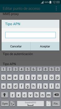 Samsung N910F Galaxy Note 4 - Mensajería - Configurar el equipo para mensajes multimedia - Paso 13