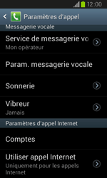 Samsung I9105P Galaxy S II Plus - Messagerie vocale - configuration manuelle - Étape 7