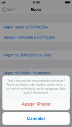 Apple iPhone SE - iOS 11 - Repor definições - Repor definições de fábrica do telemóvel -  8