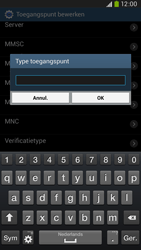 Samsung I9205 Galaxy Mega 6-3 LTE - Internet - Handmatig instellen - Stap 13