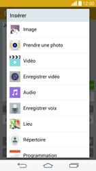 LG G3 (D855) - MMS - Envoi d