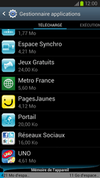 Samsung Galaxy S3 4G - Applications - Supprimer une application - Étape 8