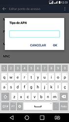 LG K8 - Internet (APN) - Como configurar a internet do seu aparelho (APN Nextel) - Etapa 15