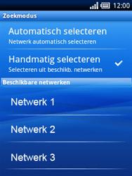 Sony Ericsson Xperia X10 Mini Pro - Bellen - in het buitenland - Stap 9