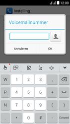 Huawei Y625 - Voicemail - Handmatig instellen - Stap 9