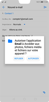 accéder a email