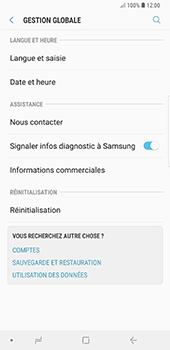 Samsung Galaxy Note 9 - Aller plus loin - Restaurer les paramètres d'usines - Étape 5