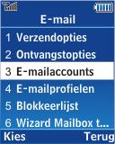 Samsung E2370 Megacell - E-mail - Handmatig instellen - Stap 9