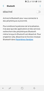 Samsung Galaxy A8 (2018) - Bluetooth - connexion Bluetooth - Étape 8