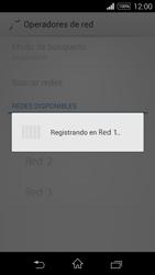 Sony D2203 Xperia E3 - Red - Seleccionar una red - Paso 9