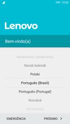 Lenovo Vibe K6 - Primeiros passos - Como ativar seu aparelho - Etapa 6