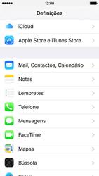 Apple iPhone 5s iOS 9 - Email - Adicionar conta de email -  3