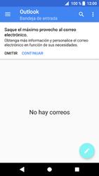 Sony Xperia XZ1 - E-mail - Configurar Outlook.com - Paso 5