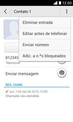 NOS LUNO - Chamadas - Como bloquear chamadas de um número -  5