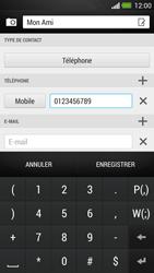 HTC One - Contact, Appels, SMS/MMS - Ajouter un contact - Étape 8