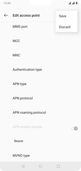 OnePlus 6 - Internet - Manual configuration - Step 16