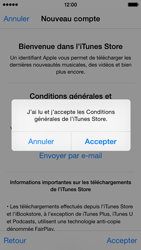 Apple iPhone 5s - iOS 8 - Applications - Créer un compte - Étape 12