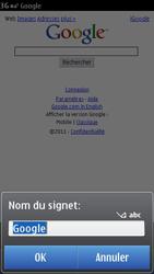 Nokia C6-01 - Internet - Navigation sur internet - Étape 5