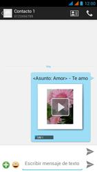 Wiko Stairway - Mensajería - Escribir y enviar un mensaje multimedia - Paso 18