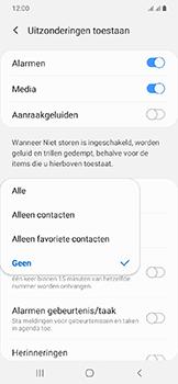 Samsung Galaxy A20e - Instellingen -