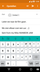 Wiko Rainbow Jam - Dual SIM - E-mail - E-mails verzenden - Stap 8