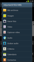 Samsung I9300 Galaxy S III - E-mail - Escribir y enviar un correo electrónico - Paso 10