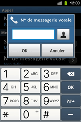 Samsung S5830i Galaxy Ace i - Messagerie vocale - configuration manuelle - Étape 7