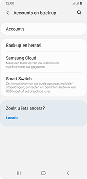 Samsung galaxy-a8-2018-sm-a530f-android-pie - Instellingen aanpassen - Back-up maken in je account - Stap 5