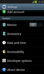 Samsung I8190 Galaxy S III Mini - Network - Installing software updates - Step 5