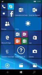 Microsoft Lumia 550 - Primeiros passos - Baixar o manual - Etapa 1
