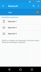 Sony Xperia M5 (E5603) - Bluetooth - Headset, carkit verbinding - Stap 6