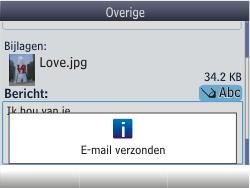 Nokia Asha 201 - E-mail - e-mail versturen - Stap 17