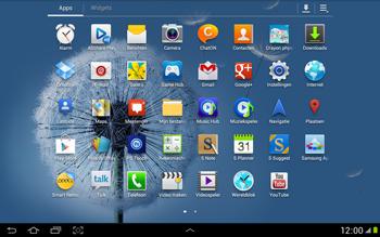 Samsung N8000 Galaxy Note 10-1 - Voicemail - handmatig instellen - Stap 3