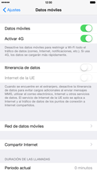 Apple iPhone 6 Plus iOS 8 - Red - Seleccionar el tipo de red - Paso 4
