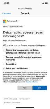 Apple iPhone iOS 12 - Email - Como configurar seu celular para receber e enviar e-mails - Etapa 8