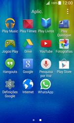 Samsung Galaxy J1 - Aplicações - Como configurar o WhatsApp -  4
