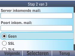 Nokia Asha 210 - E-mail - Handmatig instellen - Stap 12