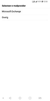 LG Q7 - E-mail - Handmatig Instellen - Stap 6