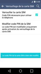 LG K4 - Sécuriser votre mobile - Personnaliser le code PIN de votre carte SIM - Étape 14