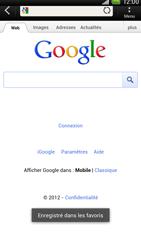 HTC S720e One X - Internet - navigation sur Internet - Étape 7