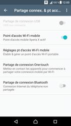 Sony Xperia X - Internet et connexion - Partager votre connexion en Wi-Fi - Étape 12