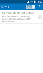 Samsung Galaxy Core Prime - WiFi - Conectarse a una red WiFi - Paso 5