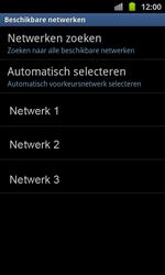 Samsung I8530 Galaxy Beam - Netwerk - gebruik in het buitenland - Stap 11
