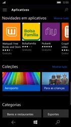 Microsoft Lumia 550 - Aplicativos - Como baixar aplicativos - Etapa 10
