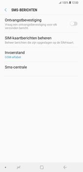 Samsung galaxy-note-9-sm-n960f - SMS - SMS-centrale instellen - Stap 8